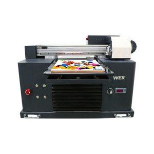 ocbestjet ផ្តោតម៉ាស៊ីនបោះពុម្ពតូច a4 ទំហំម៉ាស៊ីនបោះពុម្ពឌីជីថល uv printer flatbed