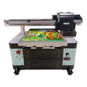 ឧស្សាហកម្ម a2 dx5 ក្បាល uv ឌីជីថល flatbed uv printer flatbed ទ្រង់ទ្រាយធំ